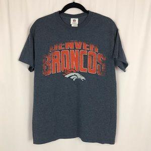 Men's NFL Team Apparel Denver Broncos T-Shirt Sz M